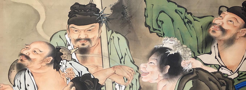 Otto immortali taoisti - Kanô Tanshin Morimichi