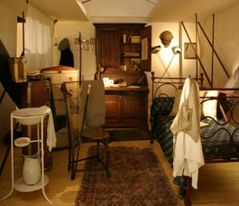 Reconstruction of a student's bedroom