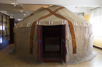 Yurta originale del Kazakhstan