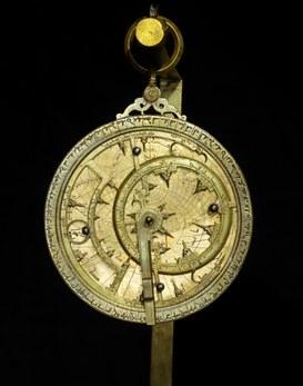 Astrolabio arabo attributo a Ibn Baso (ca. 1280)
