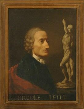 """Ercole Lelli, """"Autoritratto"""", 1742 ca."""