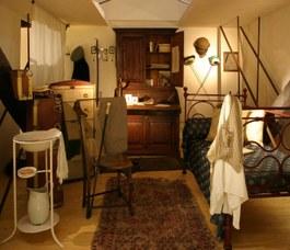 Ricostruzione della stanza di uno studente