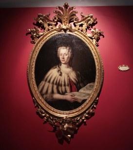 """Carlo Vandi, """"Ritratto di Laura Bassi"""", XVIII secolo"""