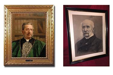 I ritratti di Giovanni Capellini e Achille De Zigno - Esposizione