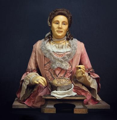 Busto in cera di Anna Morandi Manzolini