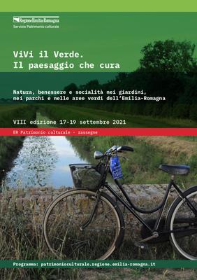 """Locandina """"Vivi il Verde"""" 2021"""