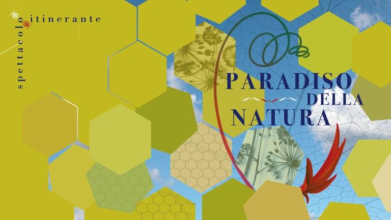 """Locandina spettacolo """"Paradiso della natura"""""""