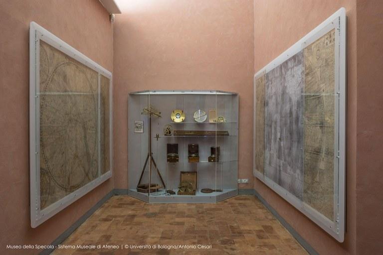 Sala delle carte cinesi Museo della Specola