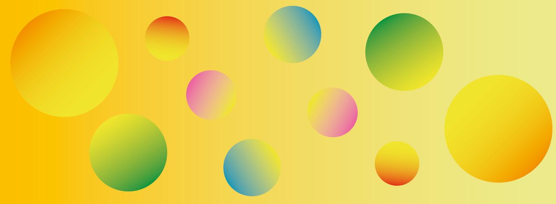 Grafica con bolle colorate SMArt Summer 2021