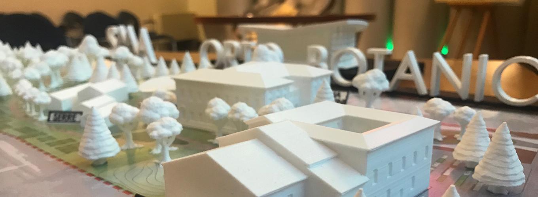 Plastico progetto nuovo Orto Botanico