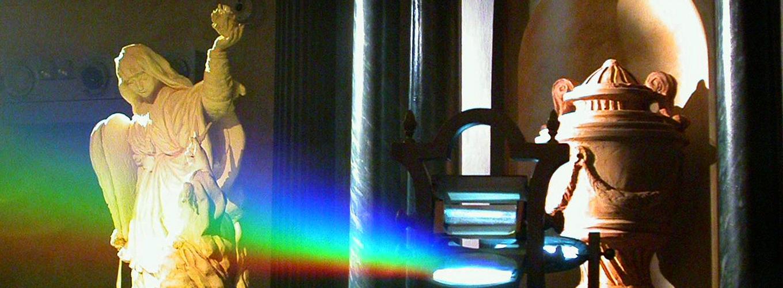 Scomposizione della luce Newton